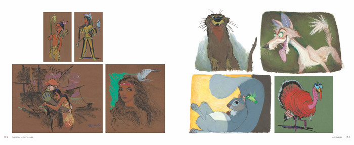 Concept art from Pocahontas