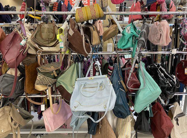 thrift shop bags - Disneybounding How to Disneybound