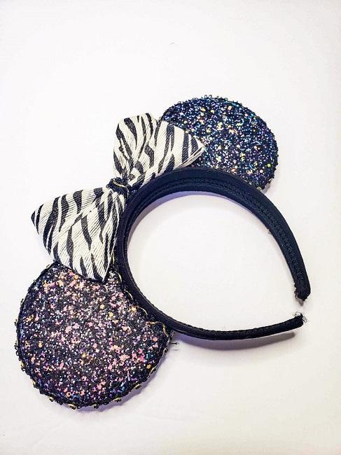 Zebra Mikey Ears - Animal Kingdom