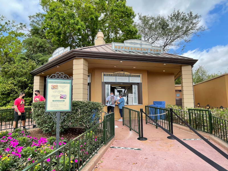 The Refreshment Port at the 2021 EPCOT Flower and Garden Festival