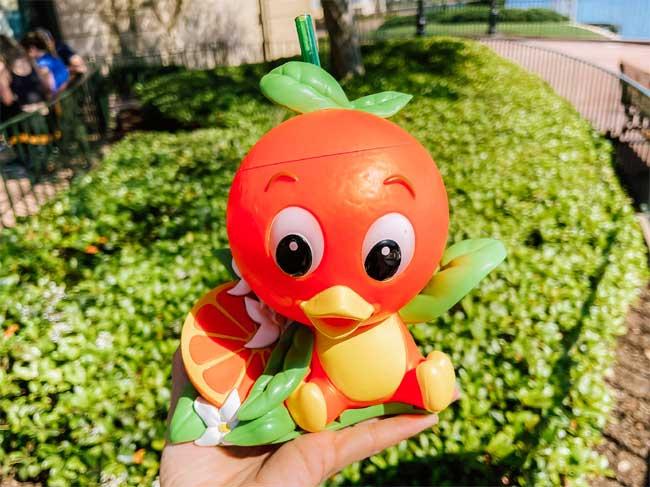 Orange Lemon Smoothie Citrus Blossom booth menu Flower and Garden Festival 2021 EPCOT Chiu