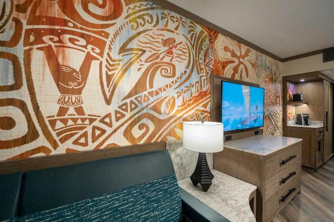 moana inspired rooms at polynesian village resort