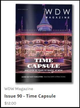 WDW-Magazine Vintage History Issue