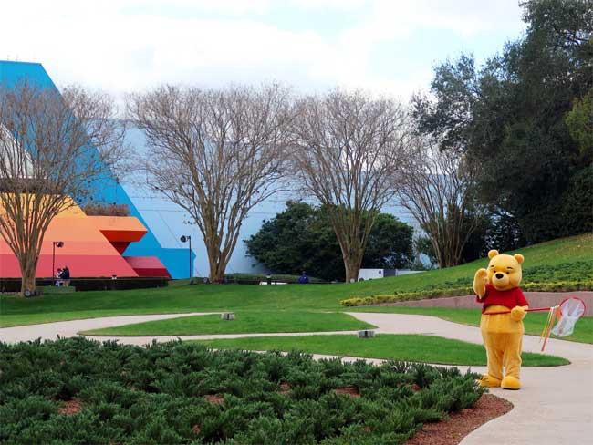 Winnie the Pooh EPCOT Imagination Pavilion Disney World Turner