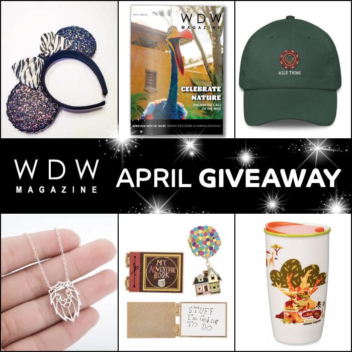 April Giveaways - WDW Magazine