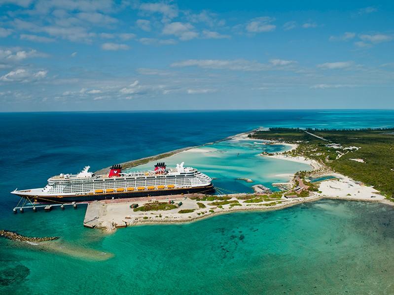 disney cruise line's private island castaway cay
