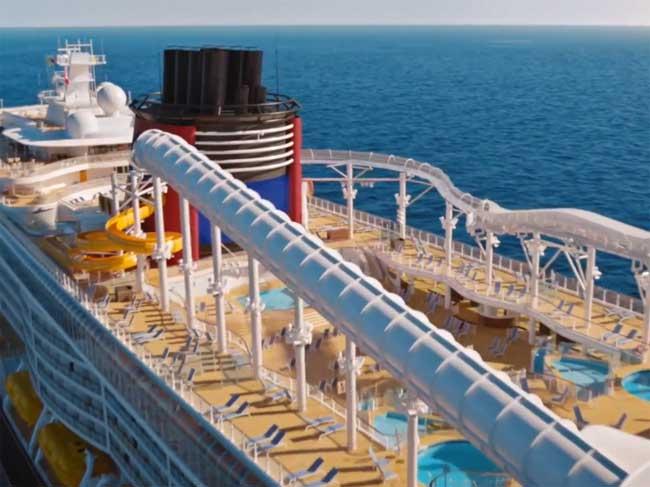 Disney-Wish-AquaMouse-Attraction-at-Sea-Disney-Cruise-Line
