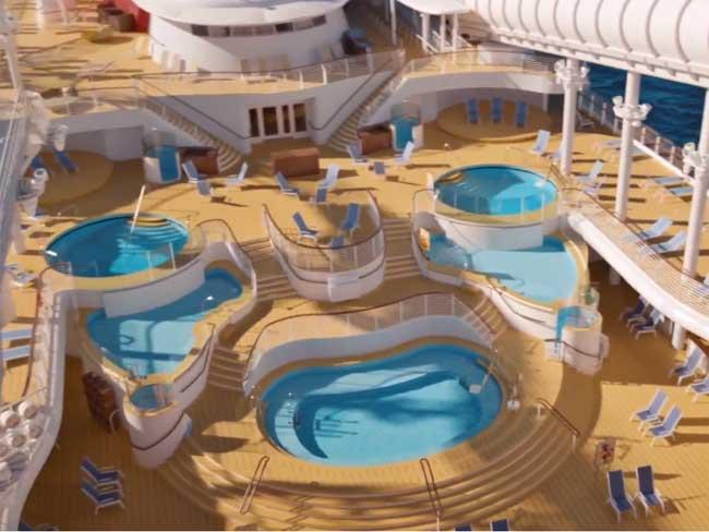 Disney-Wish-Pools-on-Deck-Disney-Cruise-Line