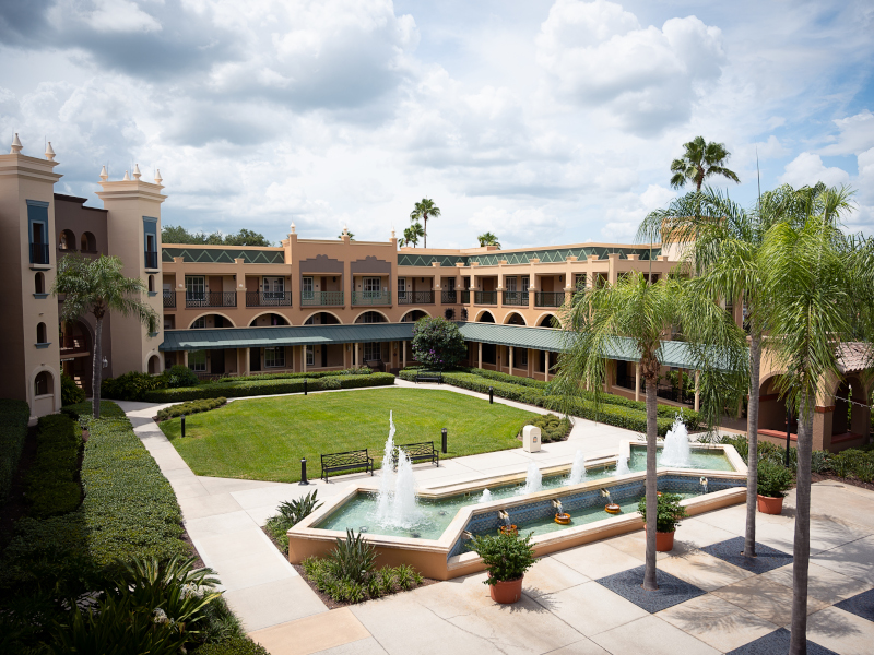 Exterior of Disney's Coronado Springs Resort