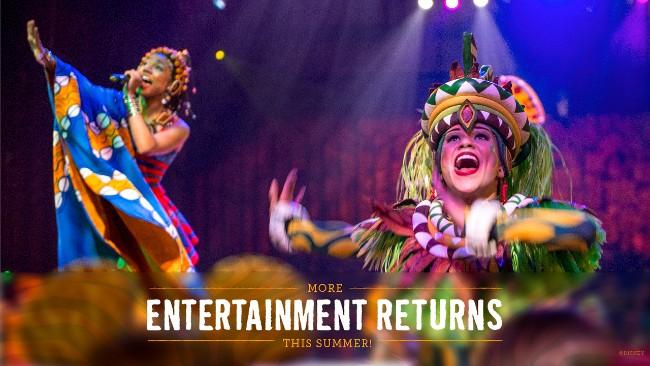 festival of the lion king returning to animal kingdom