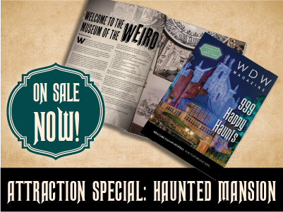 Tap here to for the Haunted Mansion Attraction Special of WDW Magazine!