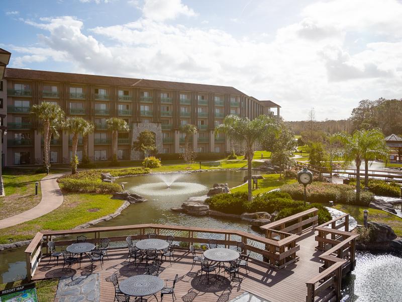 Exterior of the Shades of Green resort at Walt Disney World