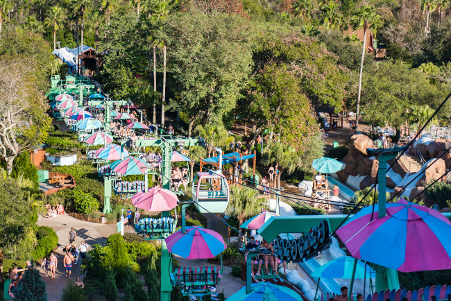 The Chairlifts at Disney's Blizzard Beach