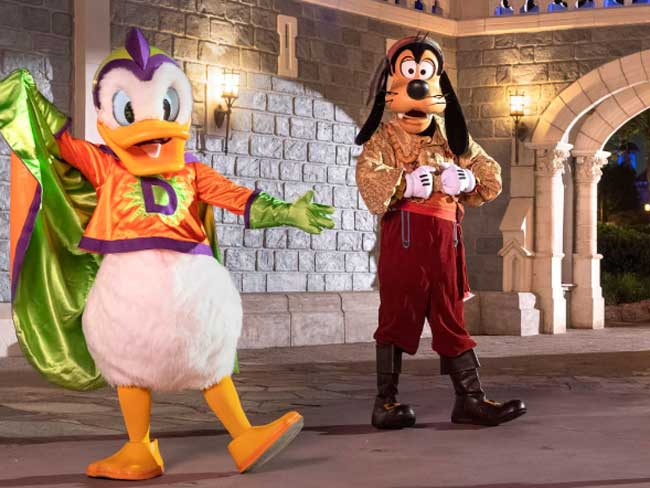 After Hours Boo Bash Magic Kingdom Halloween Event Characters Disney Parks Blog