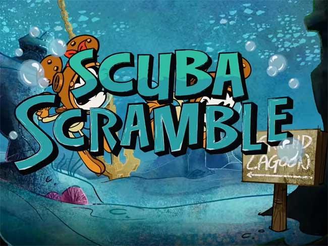 Aquamouse Scuba Scramble Disney Wish Disney Cruise LIne