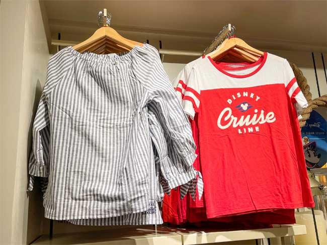 Disney Cruise Line Merch Yacht Club Blouses Chiu
