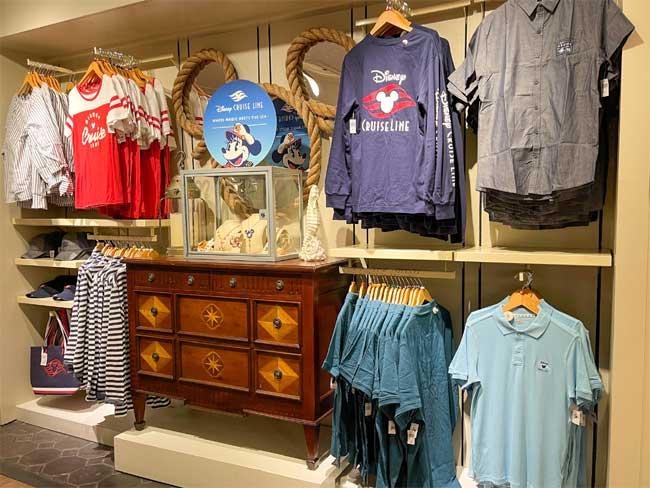 Disney Cruise Line Merch Yacht Club Shirts Chiu