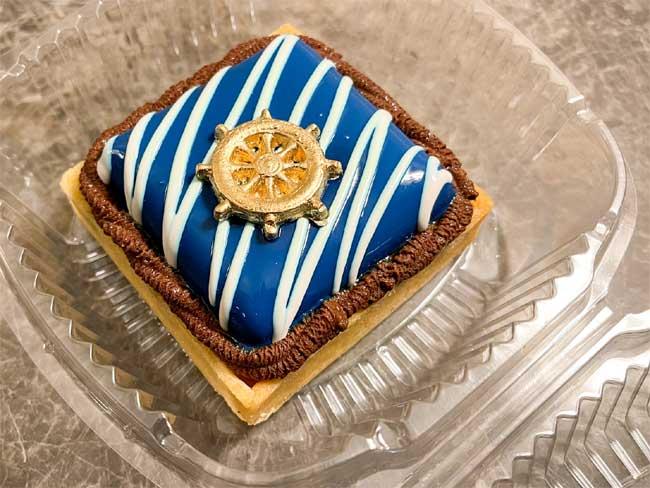 Disney Cruise Line Merch Yacht Club lemon tart with raspberry mousse Chiu