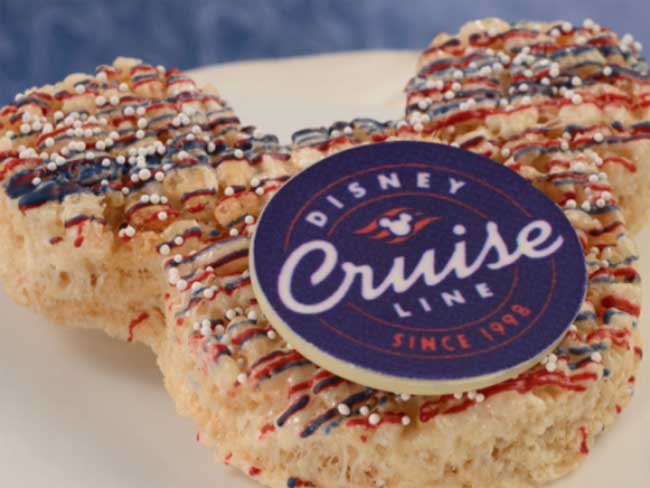 Disney Cruise Line Snack Yacht Club Rice Crispy Treat Chiu