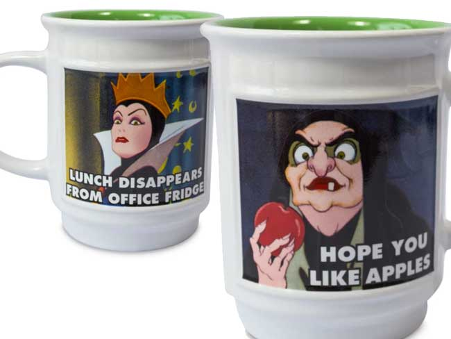 Disney Evil Witch Mug Twice Upon a Year Sale shopDisney