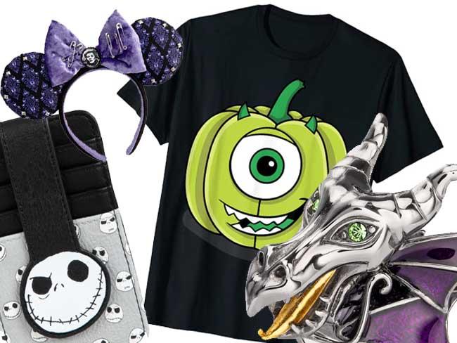 Disney Halfway to Halloween Merch Clothing Jewelry shopDisney