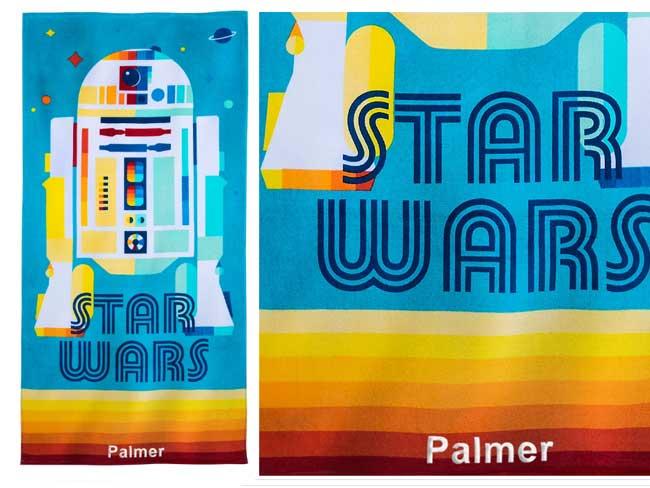 Disney Star Wars Rainbow Towel Twice Upon a Year Sale shopDisney