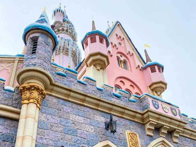 Disneyland Castle Sleeping Beauty Spires Tina Chiu