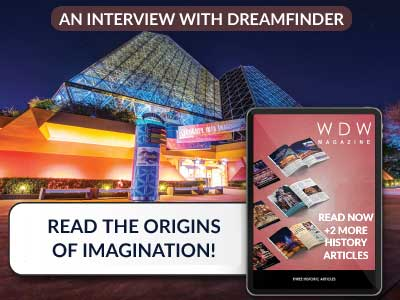 Read about the Origins of Imagination here with this free preview of WDW Magazine!