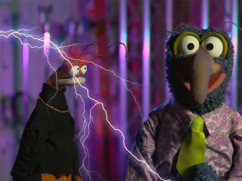 Muppets Haunted Mansion Disney Plus Pepe Gonzo Featured