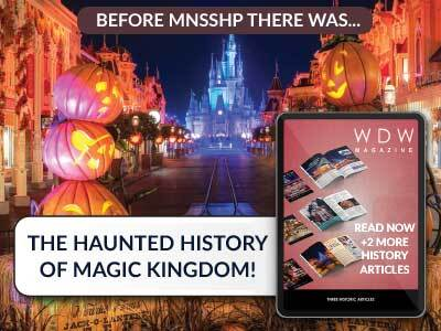 Read about the Haunted History of the Magic Kingdom here with this free preview of WDW Magazine!