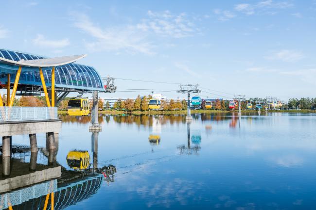 The Skyliner at Disney's Pop Century Resort and Art of Animation Resort