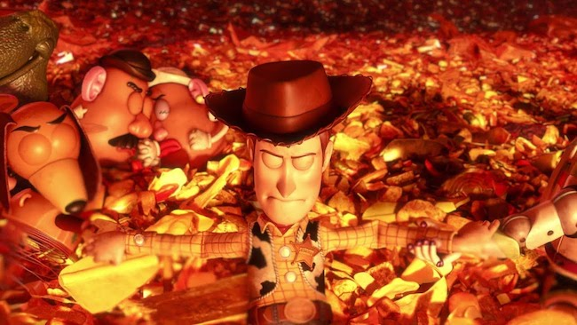 Toy Story 3 - The Incinerator