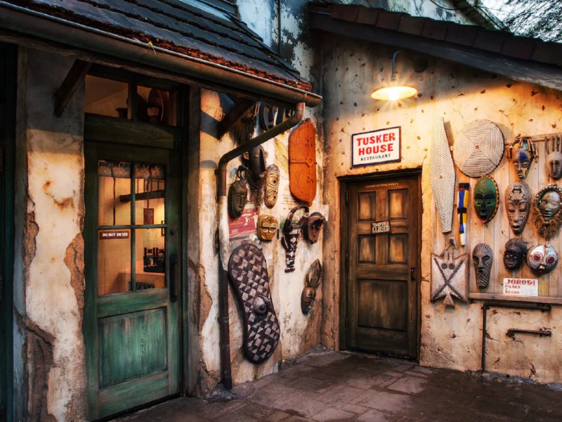 tusker house at animal kingdom