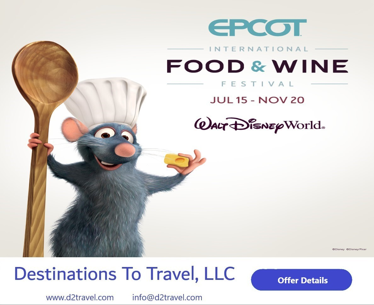 Indulge in the EPCOT International Food and Wine Festival!