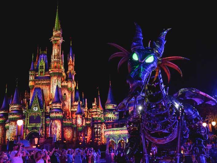 Boo Bash Magic Kingdom Dates Maleficent Dragon