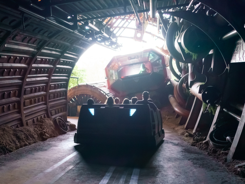 The ending stretch of Rise of the Resistance at Disney's Hollywood Studios