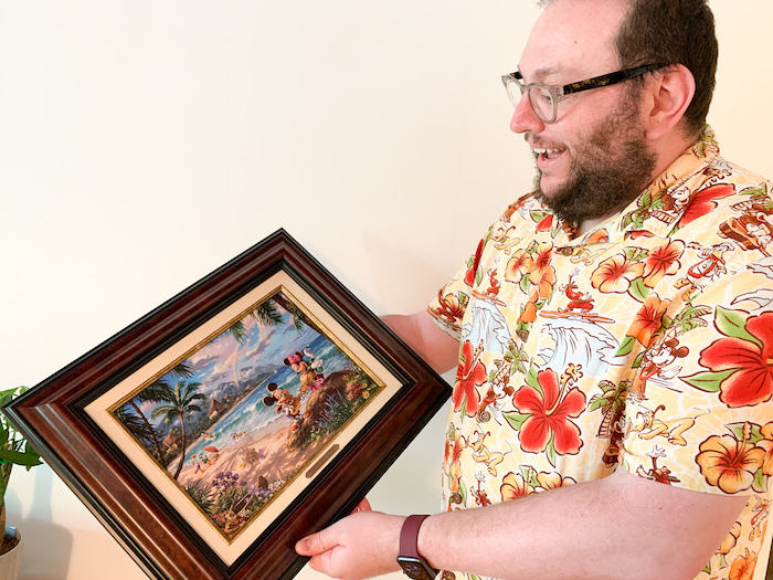Surprise them with a piece of art from Thomas Kinkade Studios