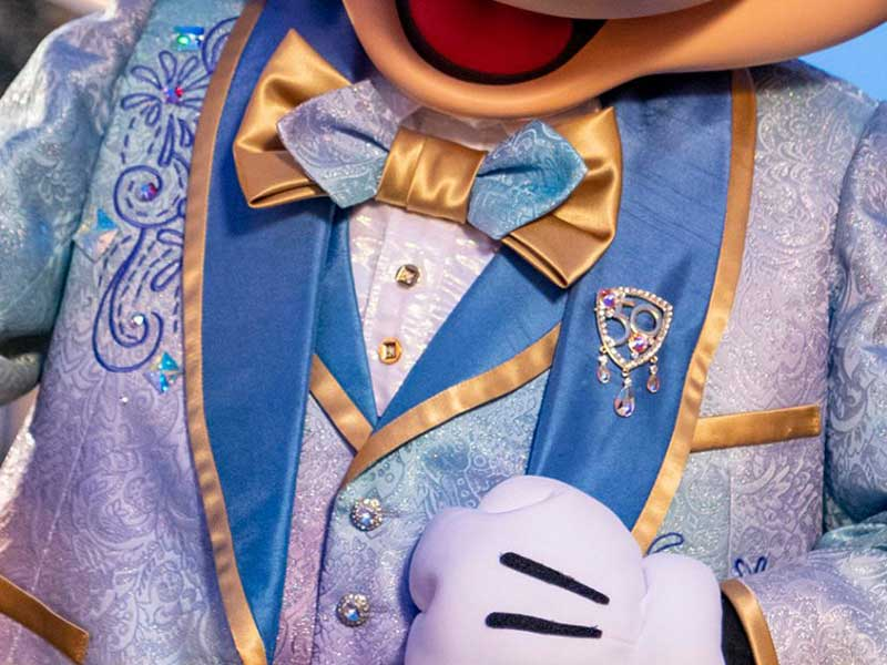 Disney World 50th Anniversary Character Costumes and Details