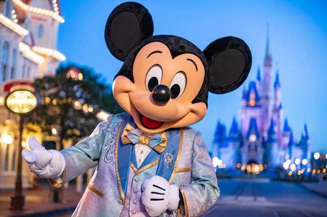 Mickey 50th Anniversary Costume Outfit