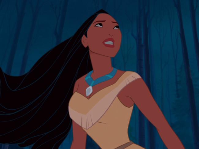 Pocahontas from Disney's Pocahontas an animated Disney classic film
