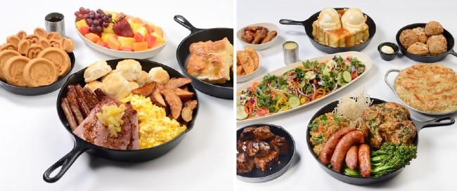 ohana breakfast and dinner at polynesian