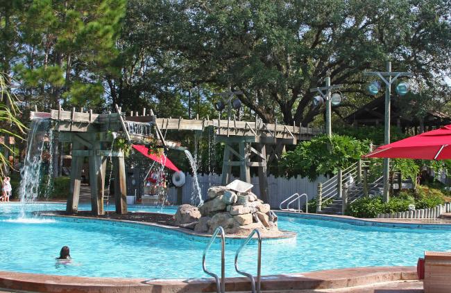 The pool at Disney's Riverside Resort