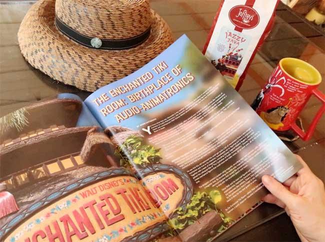 WDW Magazine Joffreys Jazzy Java May 2021 Issue Enchanted Tiki Room