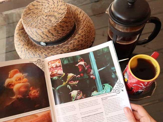 WDW Magazine Joffreys Jazzy Java May 2021 Issue Mystic Manor