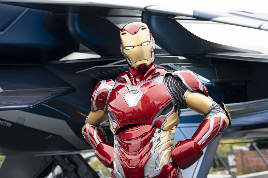 The Invincible Iron Mat at Avengers Campus | BREAKING: Masks Now Mostly Optional for Vaccinated Disneyland Guests