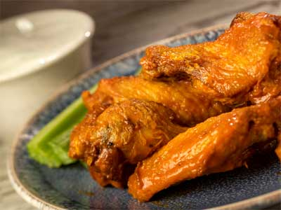 2021-Brew-Wing-Barbecue Wings with Celery and Ranch-Food-and-Wine-Disney-Parks-Blog