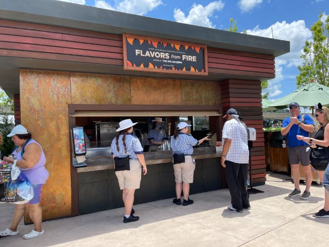 2021-EPCOT-Food-and-Wine-Festival_Flavors-From-Fire-Booth_Tina-Chiu