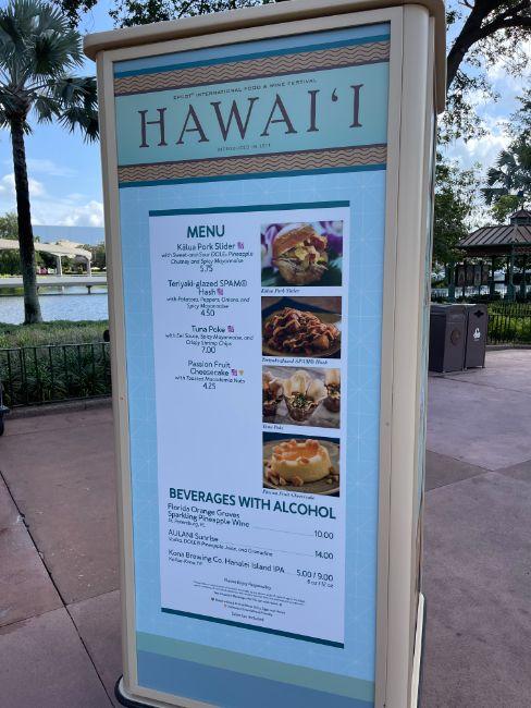 2021-EPCOT-Food-and-Wine-Festival_Hawaii-Menu_Tina-Chiu