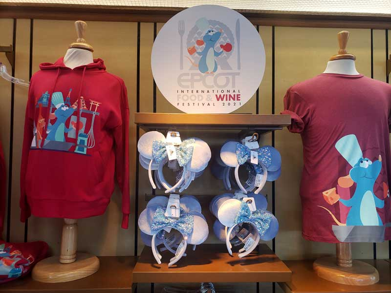 Photos: 2021 EPCOT Food and Wine Festival Merchandise