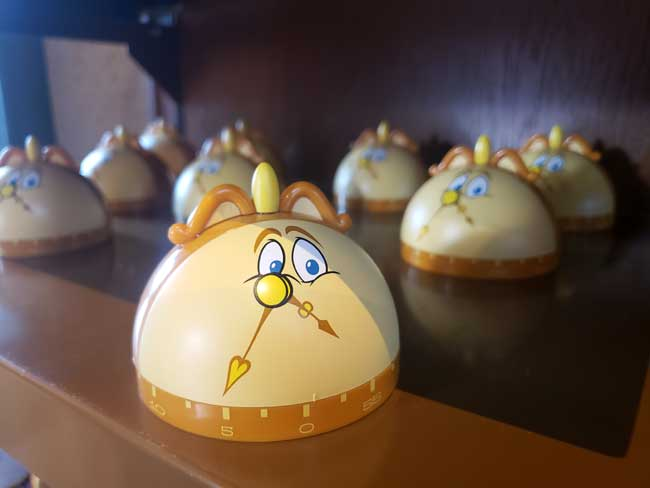 2021-EPCOT-Food-and-Wine-Merch_Be-Our-Guest-Merchandise_Cogsworth-Timer_Blanken